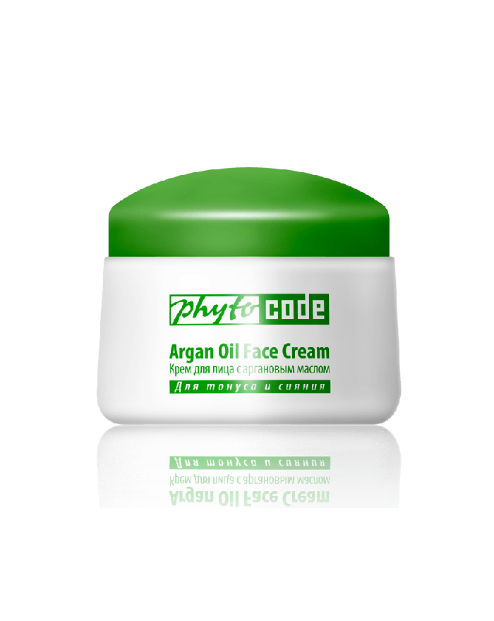 Face Cream with Argan Oil, 50g